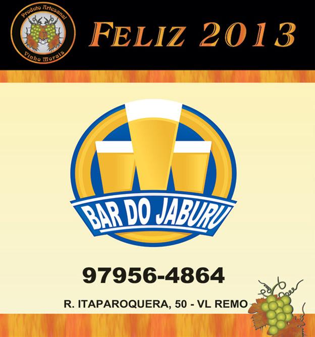 rótulo de bar jaburu Vinho Morais
