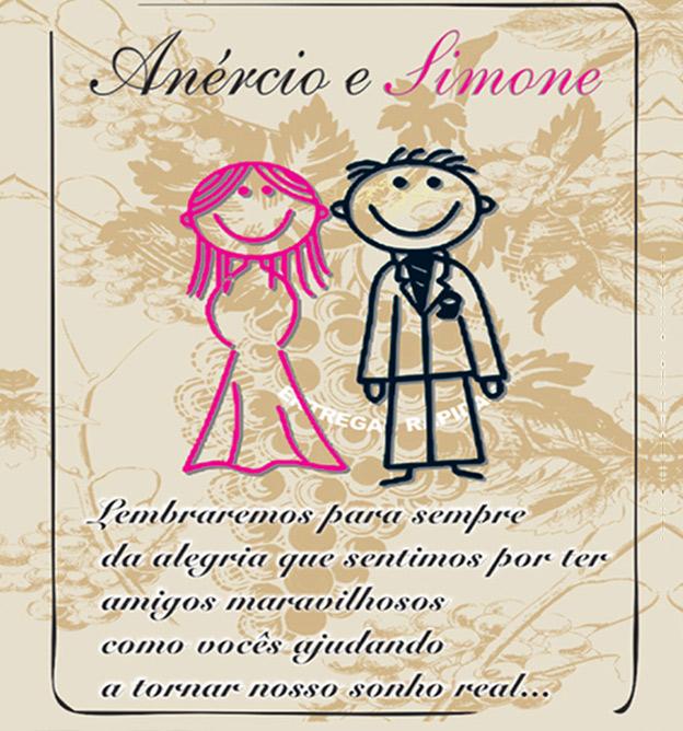 rótulo de casamento noivos Vinho Morais