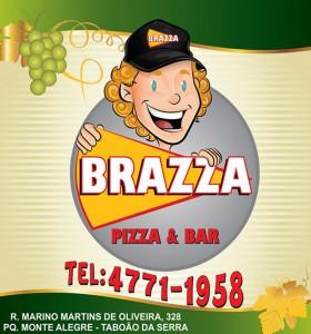 rótulo de pizza e bar Vinho Morais
