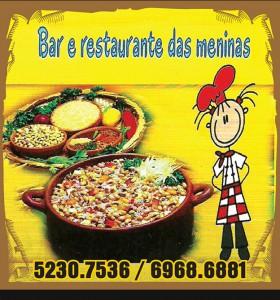 rótulo de bar e restaurante das meninas Vinho Morais