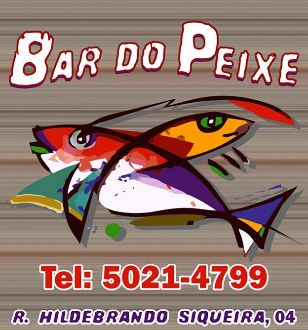 rótulo de bar do peixe Vinho Morais